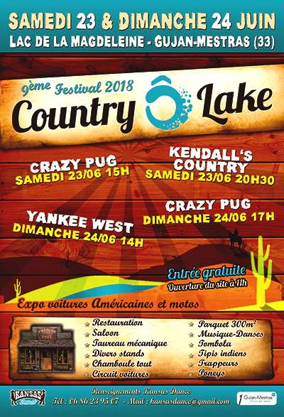 Country o lake a gujan mestras