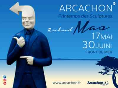 Le printemps des sculptures a arcachon