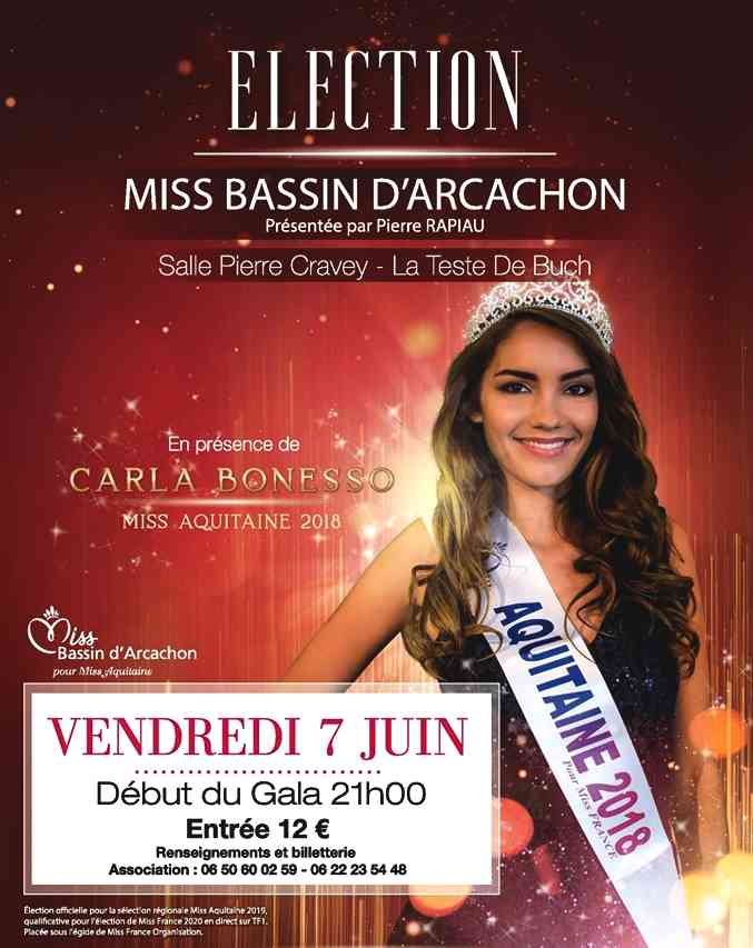 election miss bassin arcachon 2019