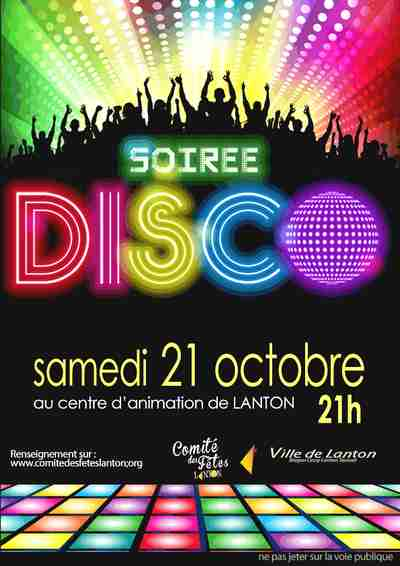 soiree disco lanton